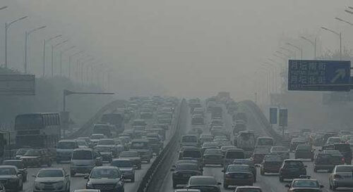 china cars pollution